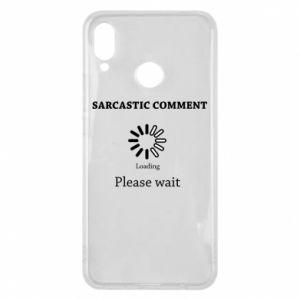 Etui na Huawei P Smart Plus Sarcastic comment