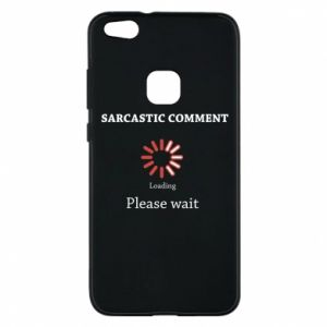Etui na Huawei P10 Lite Sarcastic comment