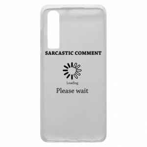Etui na Huawei P30 Sarcastic comment