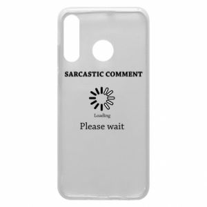 Etui na Huawei P30 Lite Sarcastic comment