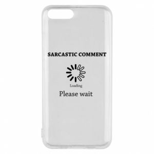 Etui na Xiaomi Mi6 Sarcastic comment