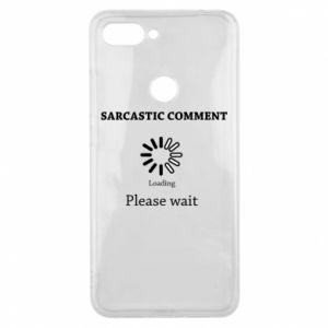 Etui na Xiaomi Mi8 Lite Sarcastic comment