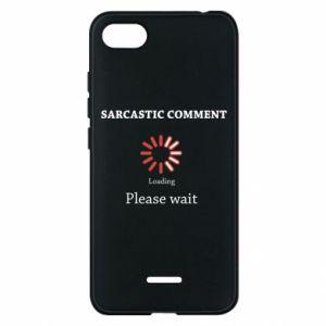 Etui na Xiaomi Redmi 6A Sarcastic comment