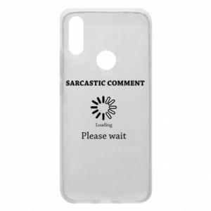 Etui na Xiaomi Redmi 7 Sarcastic comment