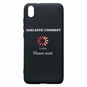 Etui na Xiaomi Redmi 7A Sarcastic comment