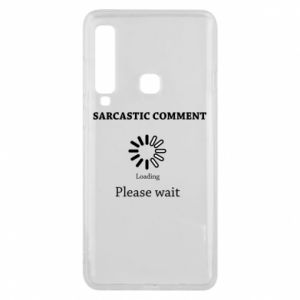 Etui na Samsung A9 2018 Sarcastic comment