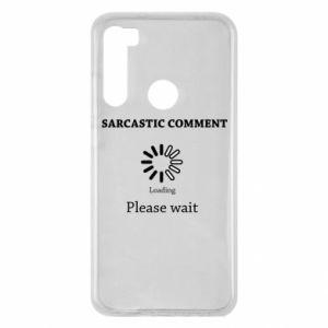Etui na Xiaomi Redmi Note 8 Sarcastic comment