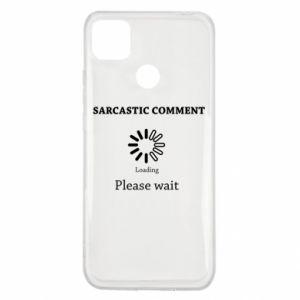Etui na Xiaomi Redmi 9c Sarcastic comment