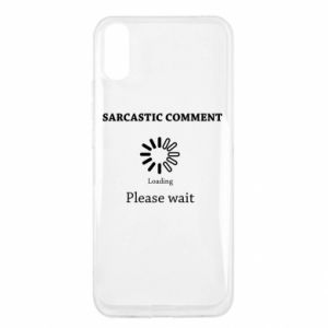 Etui na Xiaomi Redmi 9a Sarcastic comment
