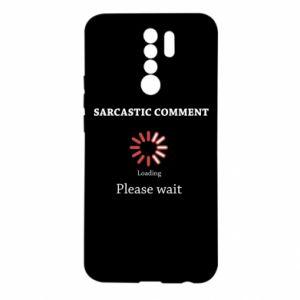 Etui na Xiaomi Redmi 9 Sarcastic comment