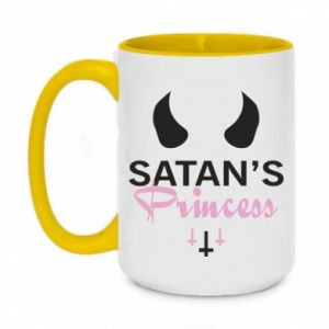Two-toned mug 450ml Satan's princess