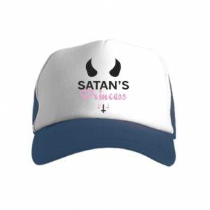 Kid's Trucker Hat Satan's princess