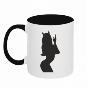 Two-toned mug Satan - PrintSalon