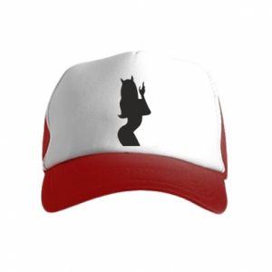 Kid's Trucker Hat Satan