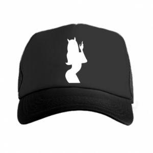 Trucker hat Satan - PrintSalon