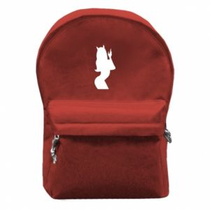 Backpack with front pocket Satan - PrintSalon