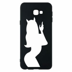 Phone case for Samsung J4 Plus 2018 Satan