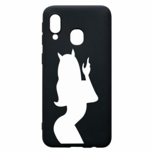 Phone case for Samsung A40 Satan
