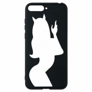 Phone case for Huawei Y6 2018 Satan