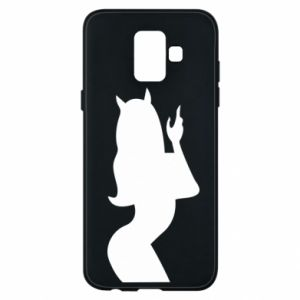 Phone case for Samsung A6 2018 Satan