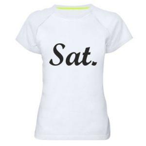 Koszulka sportowa damska Saturday