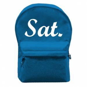 Plecak z przednią kieszenią Saturday