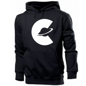 Men's hoodie Saturn in the shade