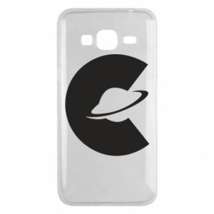 Phone case for Samsung J3 2016 Saturn in the shade - PrintSalon