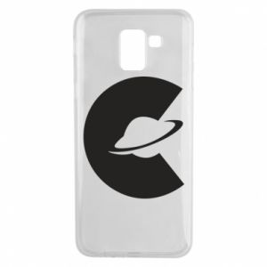 Phone case for Samsung J6 Saturn in the shade - PrintSalon