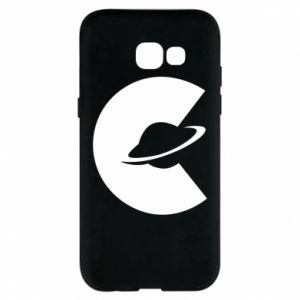 Phone case for Samsung A5 2017 Saturn in the shade - PrintSalon