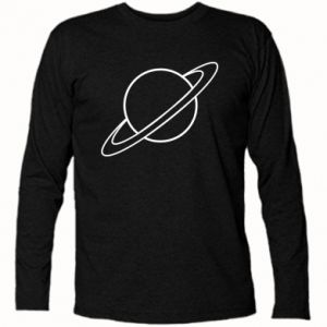 Long Sleeve T-shirt Saturn