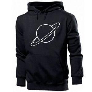 Męska bluza z kapturem Saturn