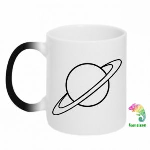Chameleon mugs Saturn