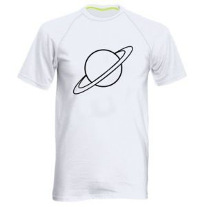 Men's sports t-shirt Saturn