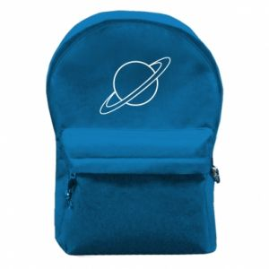 Backpack with front pocket Saturn