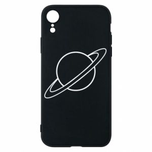 Phone case for iPhone XR Saturn