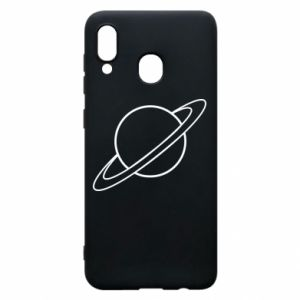 Phone case for Samsung A20 Saturn