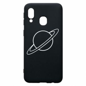 Phone case for Samsung A40 Saturn