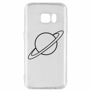Phone case for Samsung S7 Saturn