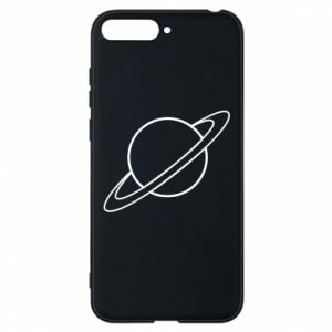 Phone case for Huawei Y6 2018 Saturn
