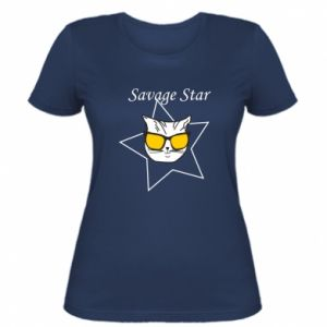 Damska koszulka Savage star