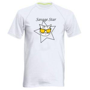 Koszulka sportowa męska Savage star