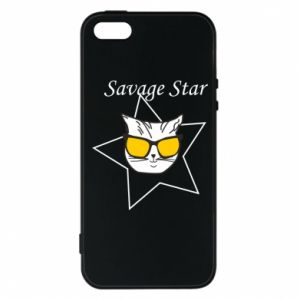 Etui na iPhone 5/5S/SE Savage star