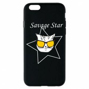 Etui na iPhone 6/6S Savage star