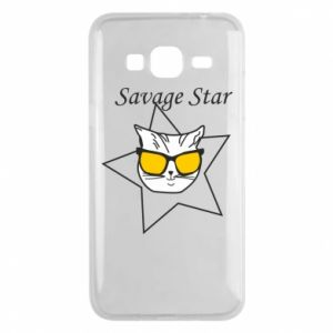 Etui na Samsung J3 2016 Savage star