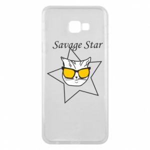 Etui na Samsung J4 Plus 2018 Savage star