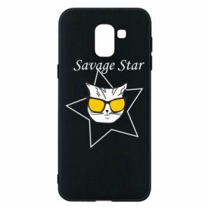 Etui na Samsung J6 Savage star