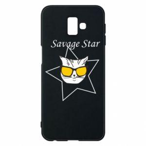 Etui na Samsung J6 Plus 2018 Savage star