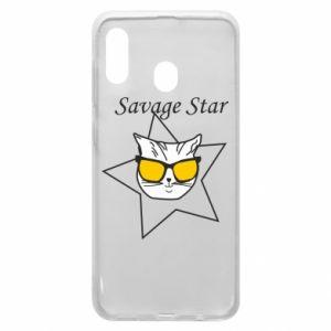 Etui na Samsung A30 Savage star