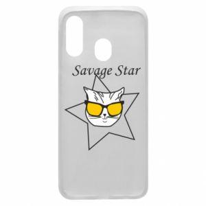 Etui na Samsung A40 Savage star